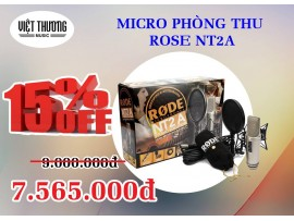 Microphone thu âm NT2A-RODE
