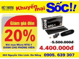 Micro Phóng viên NTG-1