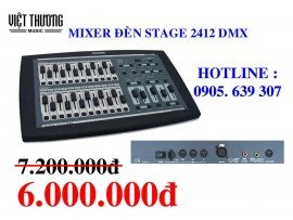 MIXER ĐÈN WORK STAGE 2412 DMX 12-24