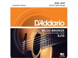 Dây guitar D'addario EJ10