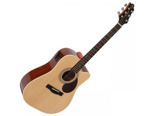 Đàn guitar Samick D2-CE/Nat
