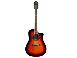Đàn guitar Fender T-Bucket ™ 300CE với kiểu dáng cutaway.
