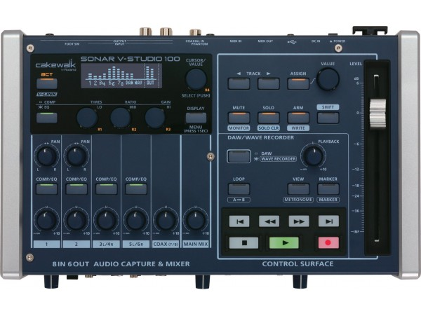 ROLAND VS-100 AUDIO CAPTURE & MIXER DIGITAL