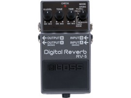 BOSS DIGITAL REVERB RV5