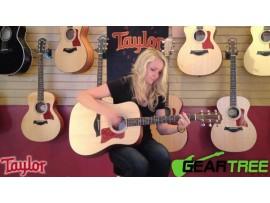 Taylor Guitar Acoustic 110e và 114e