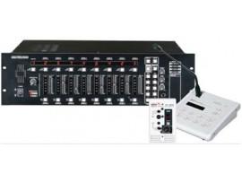 Hệ thống âm thanh cộng hưởng cho 8 vùng loa khác nhau